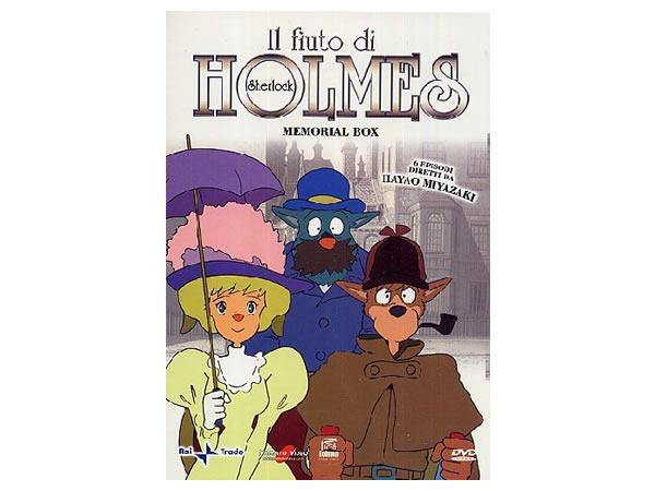画像1: イタリア語と英語で観る、宮崎駿の「アニメ・名探偵ホームズ」 DVD 【B1】