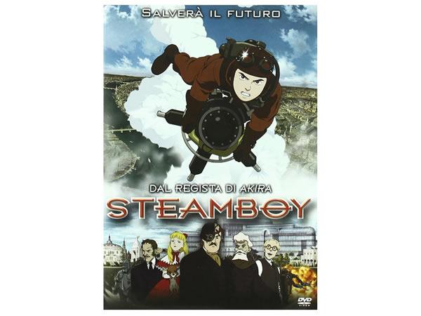 画像1: イタリア語で観る、大友克洋の「スチームボーイ」 DVD 【B2】【C1】