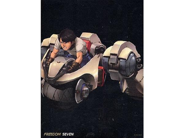 画像1: イタリア語で観る、森田修平・大友克洋の「Freedom Seven」 DVD 【B2】【C1】