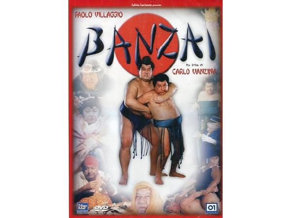 画像1: イタリアのコメディ映画Paolo Villaggio 「Banzai 」DVD 【A1】【A2】【B1】