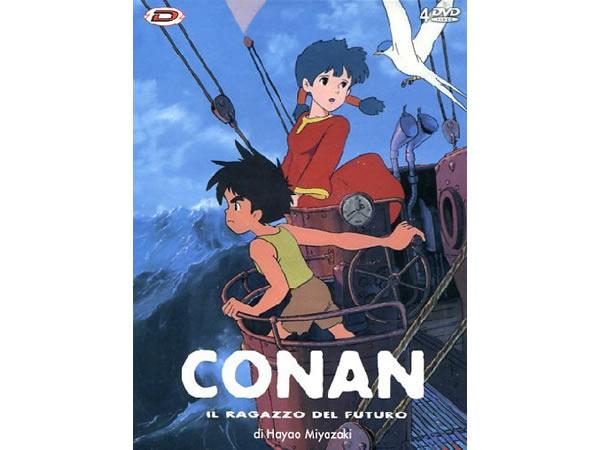 画像1: イタリア語で観る、宮崎駿の「未来少年コナン」 DVD 【B1】