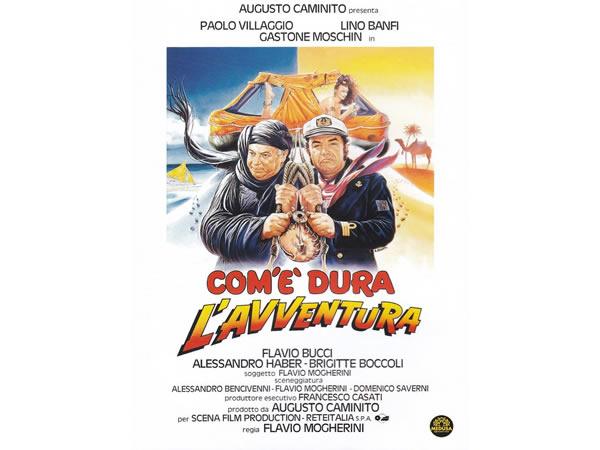 画像1: イタリアのコメディ映画Paolo Villaggio 「Com'E' Dura L'Avventura」DVD 【A1】【A2】【B1】