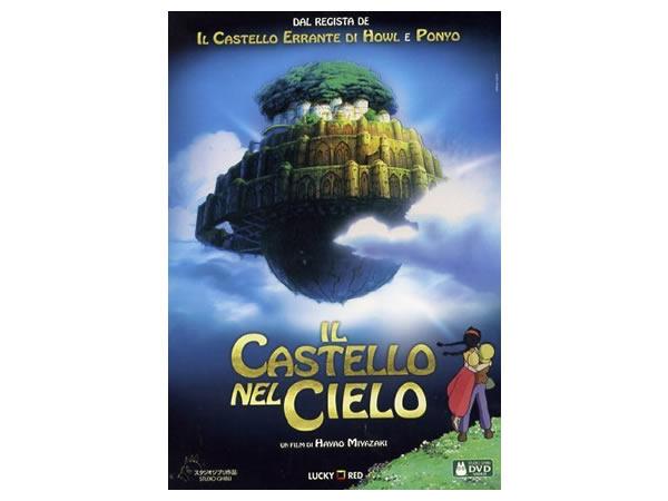 画像1: イタリア語で観る、宮崎駿の「天空の城ラピュタ」 DVD 【B1】