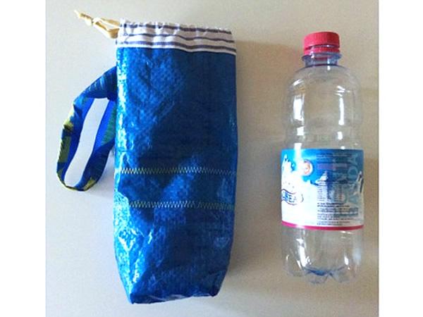 画像2: IKEARTE イタリア製イケアのガジェット ナイロンペットボトルケース 【カラー・ブルー】
