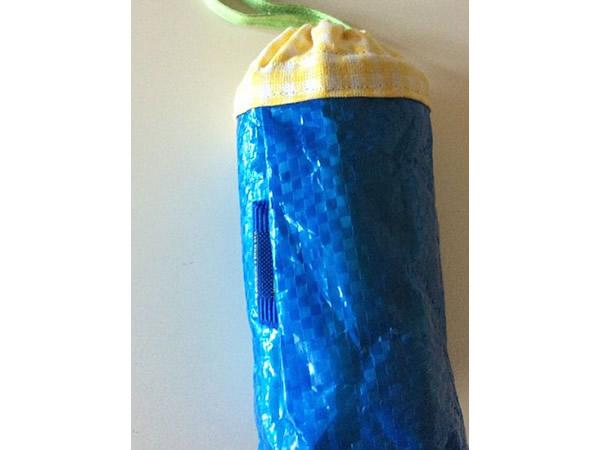 画像2: IKEARTE イタリア製イケアのガジェット ナイロンミニペットボトルケース 【カラー・ブルー】
