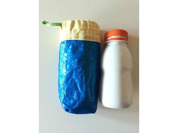 画像3: IKEARTE イタリア製イケアのガジェット ナイロンミニペットボトルケース 【カラー・ブルー】