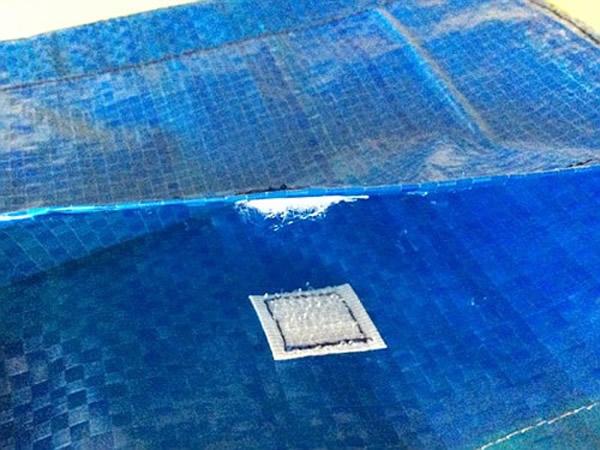 画像3: IKEARTE イタリア製イケアのガジェット ナイロントラベルポーチ 【カラー・ブルー】
