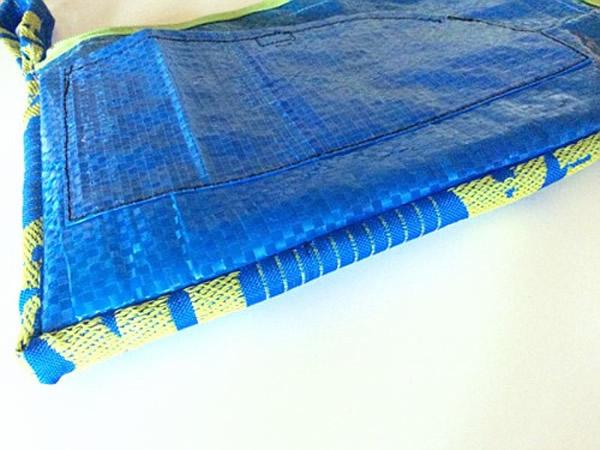 画像4: IKEARTE イタリア製イケアのガジェット ナイロントラベルポーチ 【カラー・ブルー】