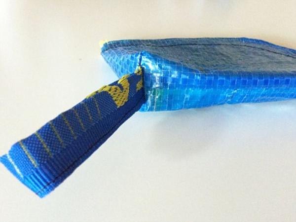 画像4: IKEARTE イタリア製イケアのガジェット ナイロン小物入れポーチ 【カラー・ブルー】