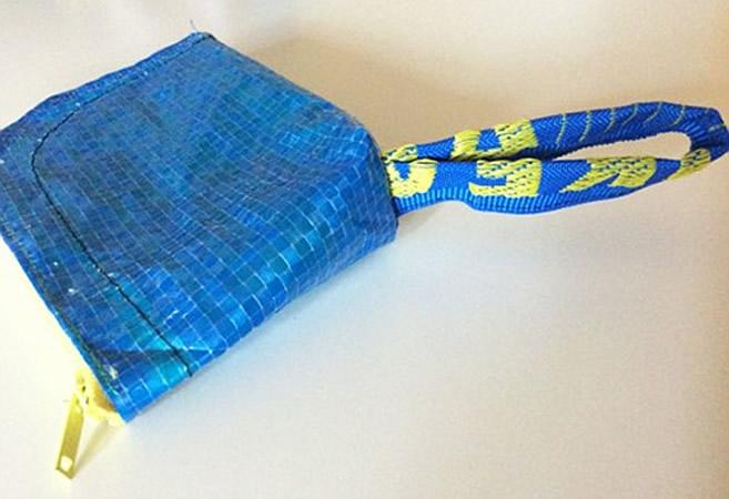 画像5: IKEARTE イタリア製イケアのガジェット ナイロン小物入れポーチ 【カラー・ブルー】