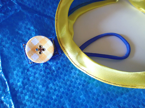 画像4: IKEARTE イタリア製イケアのガジェット ナイロン折りたたみエコバッグ 【カラー・ブルー】【カラー・イエロー】