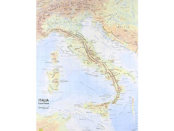 画像1: イタリア地図 マップ 裏表2種 1:800.000 42 x 29.7 cm
