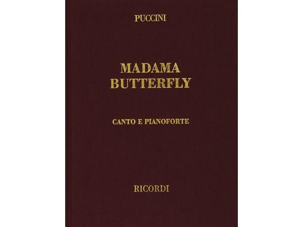 画像1: 楽譜 MADAMA BUTTERFLY - PUCCINI - CANTO E PIANOFORTE- RICORDI