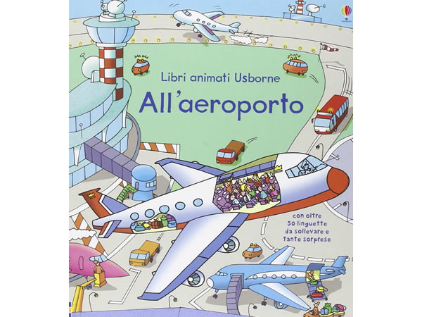 画像1: イタリア語で絵本・児童書「飛行場で起こること」を読む 対象年齢4歳以上【A1】
