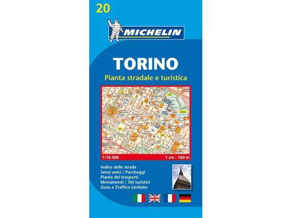 画像1: イタリア トリノ ロードマップ&シティマップ