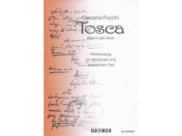 画像1: 楽譜 Tosca - Puccini - RICORDI