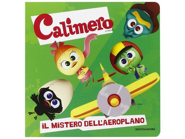 画像1: イタリア語で絵本、カリメロを読む Il mistero dell'aeroplano! Calimero 対象年齢3歳以上【A1】
