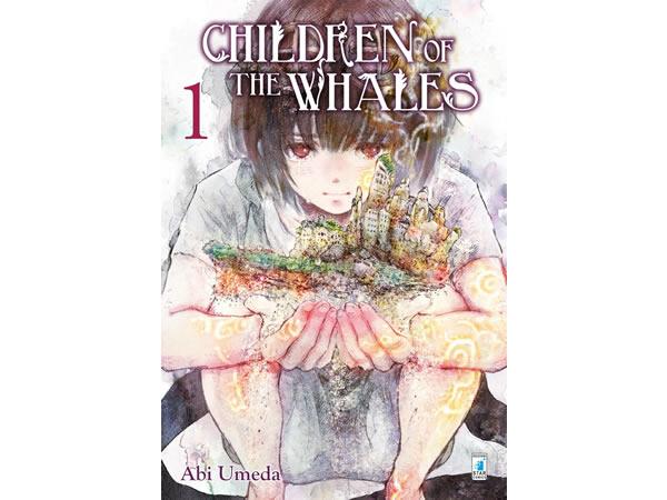 画像1: イタリア語で読む、梅田阿比の「クジラの子らは砂上に歌う」1巻-8巻 【B1】