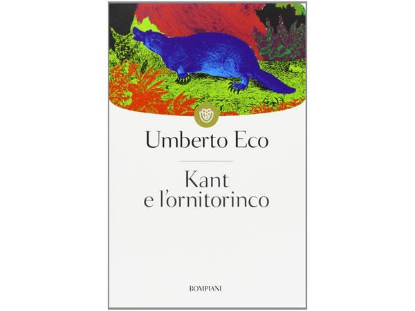 画像1: イタリアの作家ウンベルト・エーコの「カントとカモノハシ Kant e l'ornitorinco」 【C1】【C2】