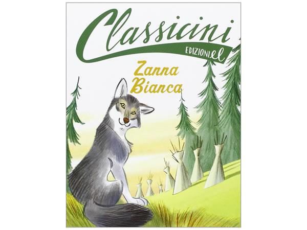 画像1: イタリア語で読む 児童書 ジャック・ロンドンの「白牙」 対象年齢7歳以上【A1】