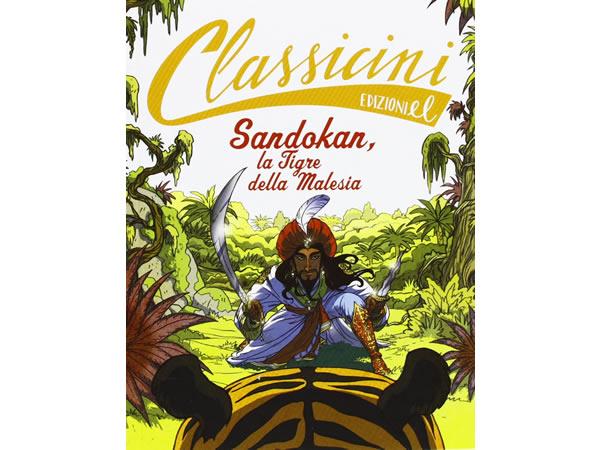 画像1: イタリア語で読む 児童書 エミリオ・サルガーリの「Sandokan, la tigre della Malesia」 対象年齢7歳以上【A1】
