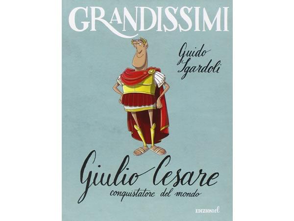 画像1: イタリア語で読む 児童書 「ユリウス・カエサル」 対象年齢7歳以上【A2】【B1】