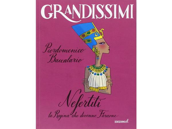 画像1: イタリア語で読む 児童書 「ネフェルティティ」 対象年齢7歳以上【A2】【B1】