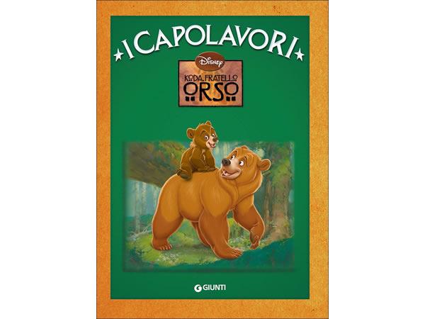 画像1: イタリア語でディズニー傑作集の絵本・児童書「ブラザー・ベア」を読む 対象年齢5歳以上 【A1】