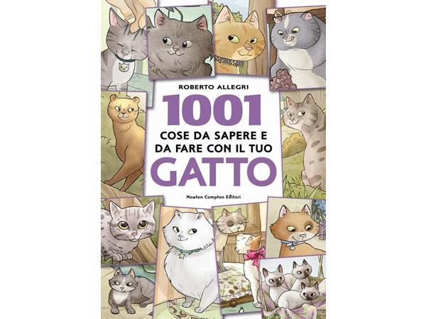 画像1: イタリア語で読む、あなたの猫について1001個の知っておくべき事とするべき事 【B1】【B2】【C1】