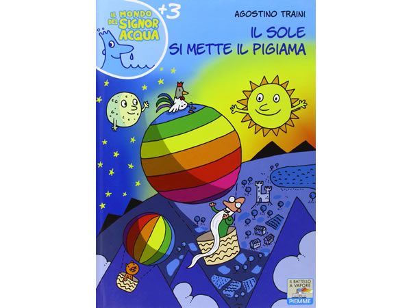 画像1: イタリア語で絵本・児童書「太陽がパジャマを着る」を読む IL MONDO DI SIGNOR ACQUAシリーズ 対象年齢3歳以上【A1】