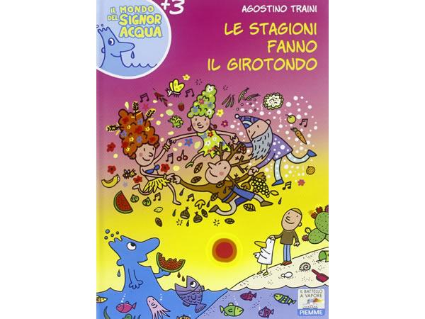 画像1: イタリア語で絵本・児童書「四季たちがくるくる踊る」を読む IL MONDO DI SIGNOR ACQUAシリーズ 対象年齢3歳以上【A1】
