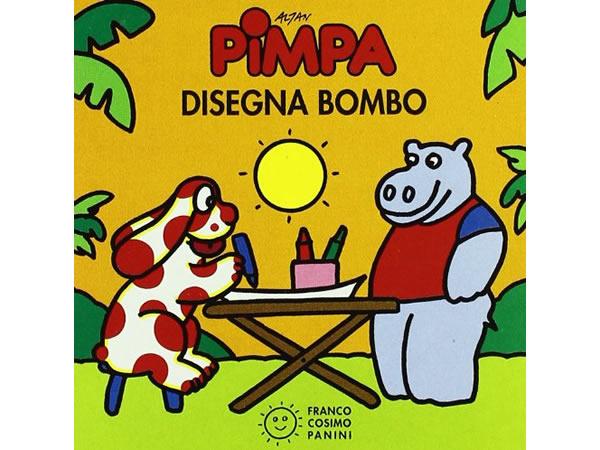 画像1: イタリア語で絵本、ピンパを読む Pimpa disegna Bombo 対象年齢2歳以上【A1】