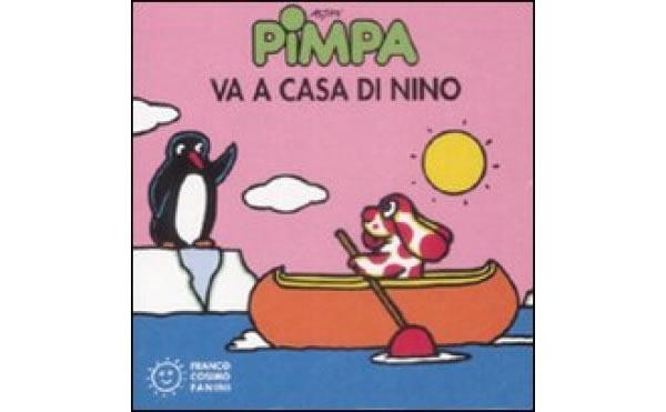 画像1: イタリア語で絵本、ピンパを読む Pimpa va a casa di Nino 対象年齢2歳以上【A1】
