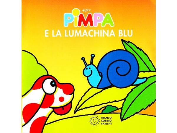 画像1: イタリア語で絵本、ピンパを読む Pimpa e la lumachina blu 対象年齢1歳以上【A1】