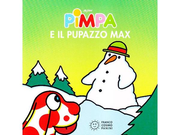 画像1: イタリア語で絵本、ピンパを読む Pimpa e il pupazzo Max 対象年齢1歳以上【A1】