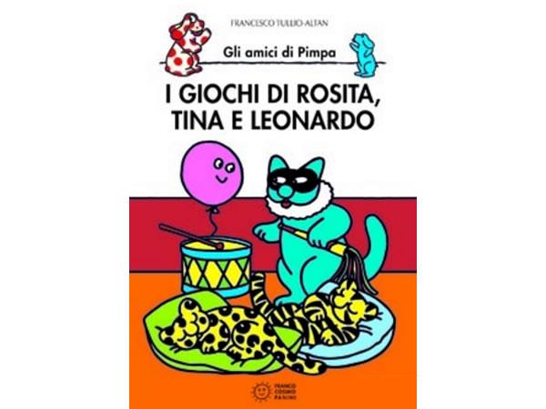 画像1: イタリア語で絵本、ピンパを読む I giochi di Rosita, Tina e Leonardo. Gli amici di Pimpa 対象年齢5歳以上【A1】
