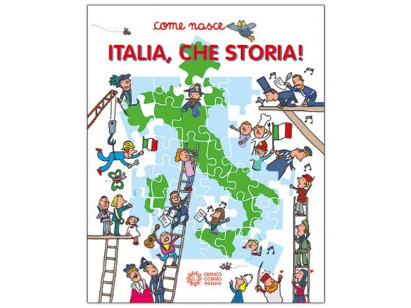 画像1: イタリア語で読む、絵本・児童書「イタリアの歴史」 対象年齢5歳以上【A1】