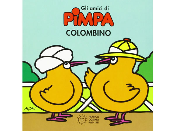 画像1: イタリア語で絵本、ピンパを読む Colombino. Gli amici di Pimpa 対象年齢3歳以上【A1】