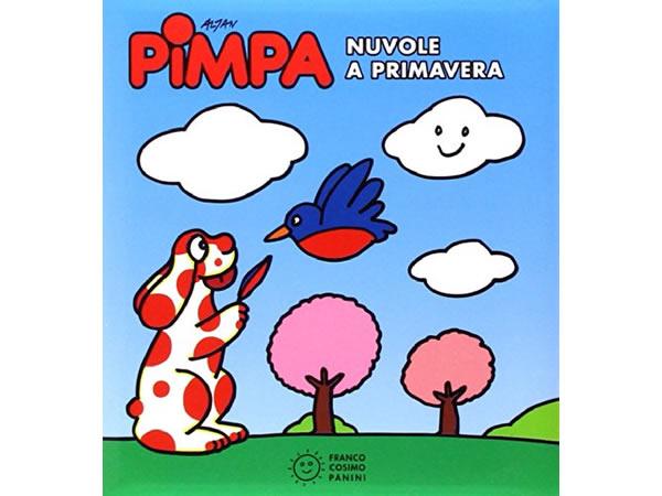 画像1: イタリア語で絵本、ピンパを読む Pimpa. Nuvole a primavera 対象年齢3歳以上【A1】