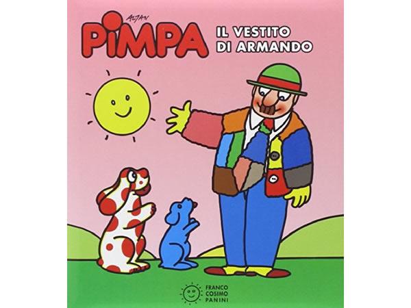 画像1: イタリア語で絵本、ピンパを読む Pimpa. Il vestito di Armando 対象年齢3歳以上【A1】