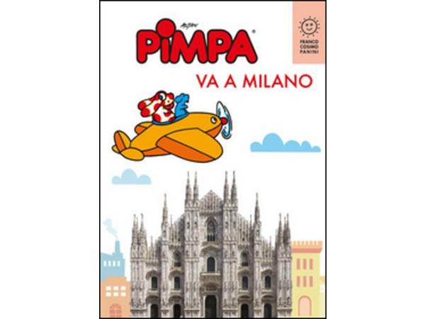 画像1: イタリア語で絵本を読む ピンパ、ミラノへ行く Pimpa va a Milano 対象年齢6歳以上【A1】