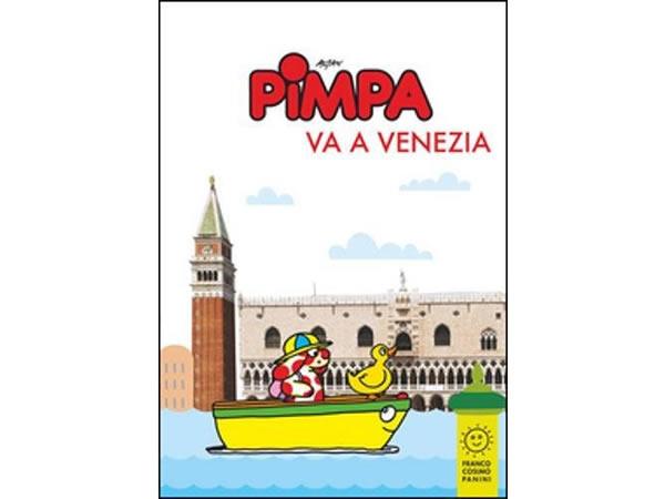 画像1: イタリア語で絵本を読む ピンパ、ヴェネツィアへ行く Pimpa va a Venezia 対象年齢6歳以上【A1】