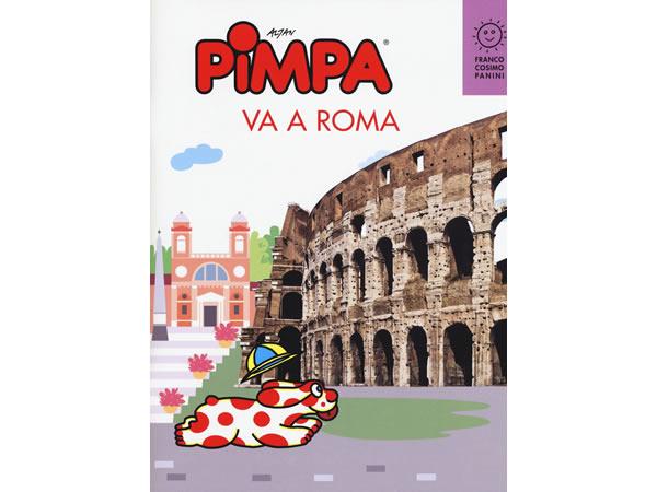 画像1: イタリア語で絵本を読む ピンパ、ローマへ行く Pimpa va a Roma 対象年齢6歳以上【A1】