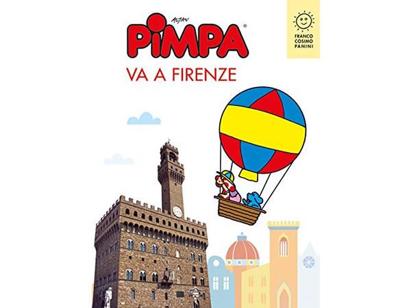 画像1: イタリア語で絵本を読む ピンパ、フィレンツェへ行く Pimpa va a Firenze 対象年齢6歳以上【A1】