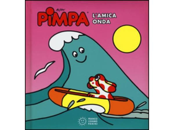 画像1: イタリア語で絵本、ピンパを読む Pimpa. L'amica onda 対象年齢1歳以上【A1】