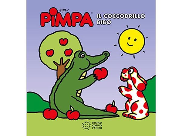 画像1: イタリア語で絵本、ピンパを読む Pimpa. Il coccodrillo Bibo 対象年齢1歳以上【A1】