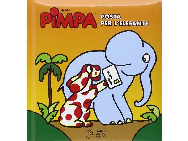 画像1: イタリア語で絵本、ピンパを読む Pimpa. Posta per l'elefante 対象年齢3歳以上【A1】