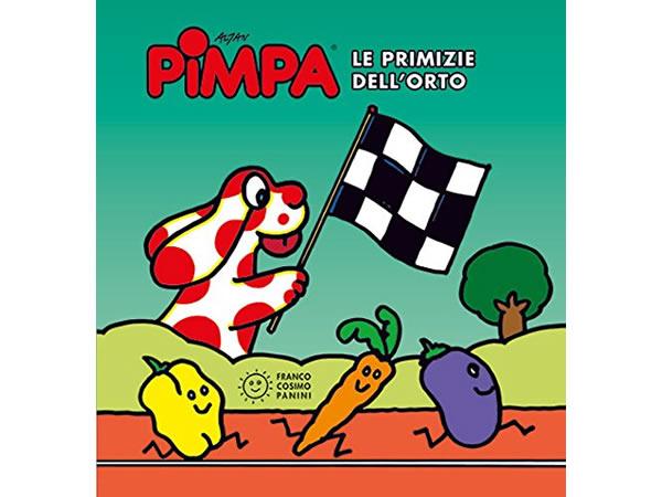 画像1: イタリア語で絵本、ピンパを読む Pimpa. Le primizie dell'orto 対象年齢3歳以上【A1】