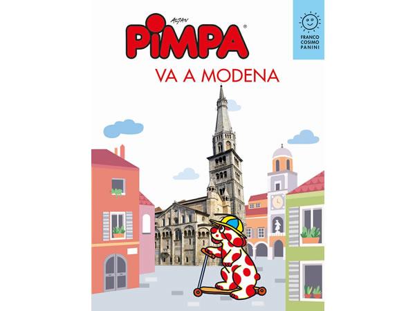 画像1: イタリア語で絵本を読む ピンパ、モデナへ行く Pimpa va a Modena 対象年齢6歳以上【A1】