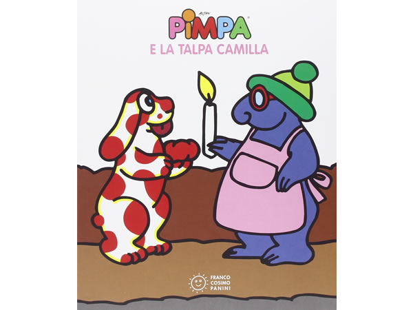 画像1: イタリア語で絵本、ピンパを読む Pimpa e la talpa Camilla 対象年齢3歳以上【A1】